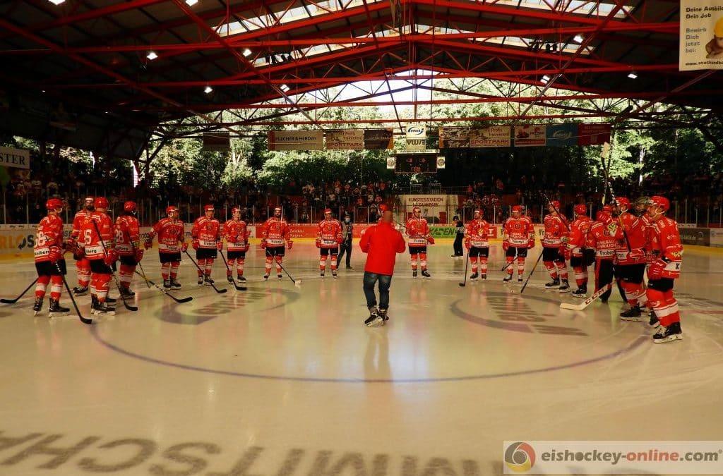 Eispiraten Crimmitschau vs. SC Deggendorf 04.10.2020