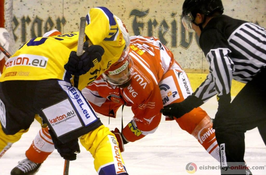 Eispiraten Crimmitschau vs. Lausitzer Füchse 16.10.2020