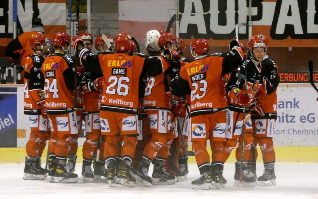 Eispiraten Crimmitschau vs. Dresdner Eislöwen 13.11.2020