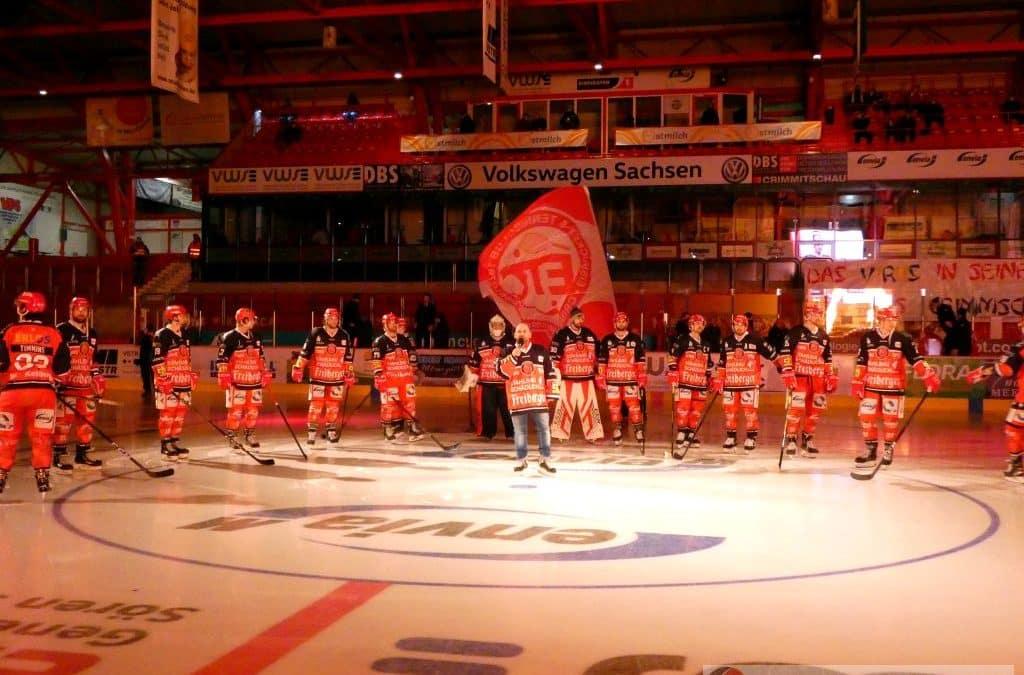 Eispiraten Crimmitschau vs. Kassel Huskies vom 22.01.2021