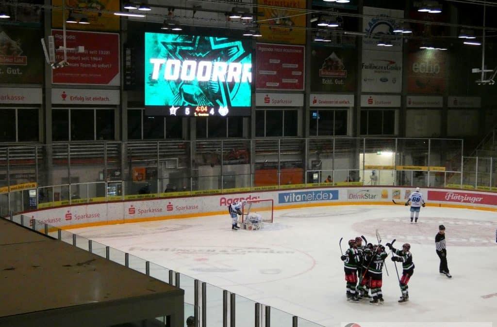 Starbulls Rosenheim vs. Lindau Islanders vom 31.01.2021