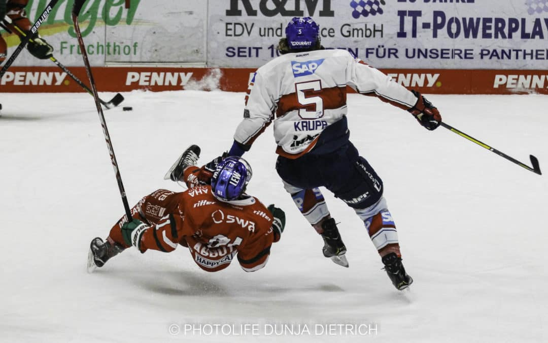 Augsburger Panther vs. Adler Mannheim 04.02.2021