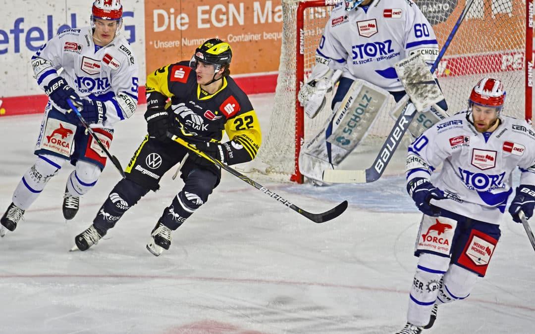 Penny-DEL Krefeld Pinguine vs. Schwenninger Wild Wings 12.04.2021