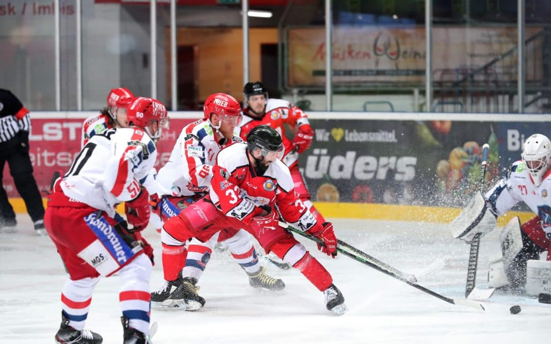 Oberliga Nord gegen Süd, Play Off Finale Spiel 5, Hannover Scorpions vs. Selber Wölfe