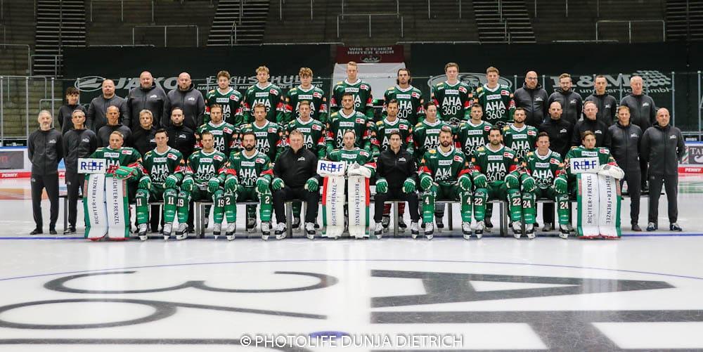 Augsburger Panther Mannschaftsaufstellung Saison 2021-2022