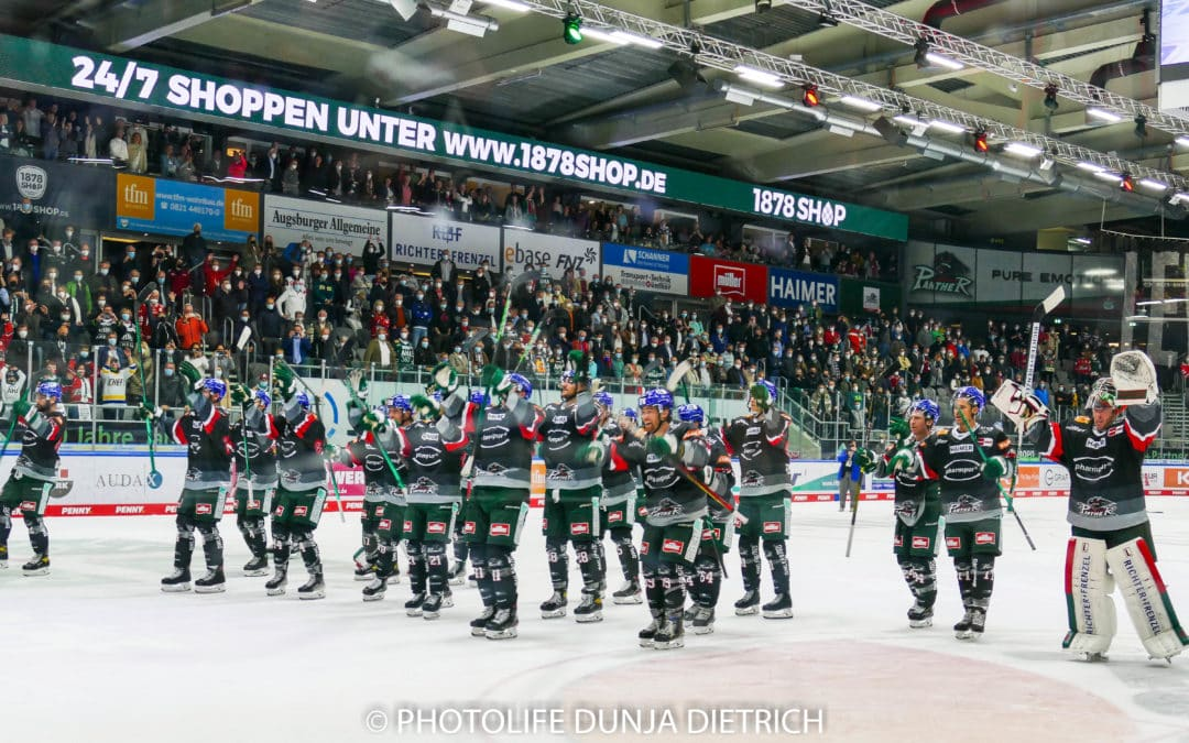 DEL-Augsburger Panther vs. Straubing Tigers 24.09.21