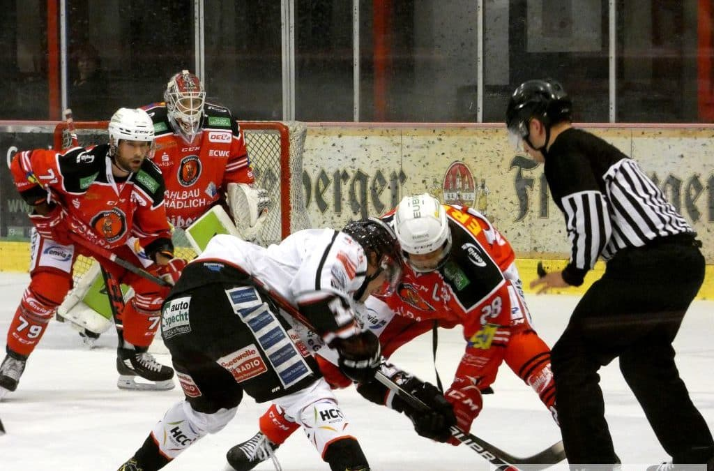 Eispiraten Crimmitschau vs. Rostock Piranhas 12.09.2021