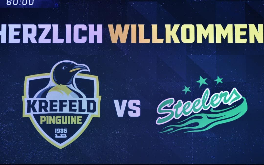 Krefeld Pinguine vs. Bietigheim Steelers 08.10.2021