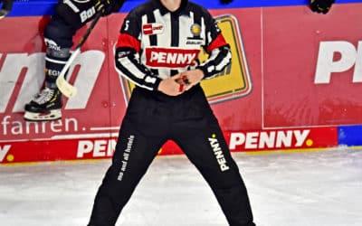 Schiedsrichter Penny- DEL Spiel Krefeld Pinguine- Augsburger Panther 17.10.2021
