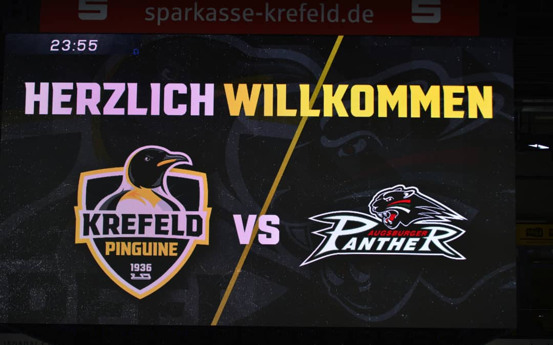 Krefeld Pinguine vs. Augsburger Panther 17.10.2021