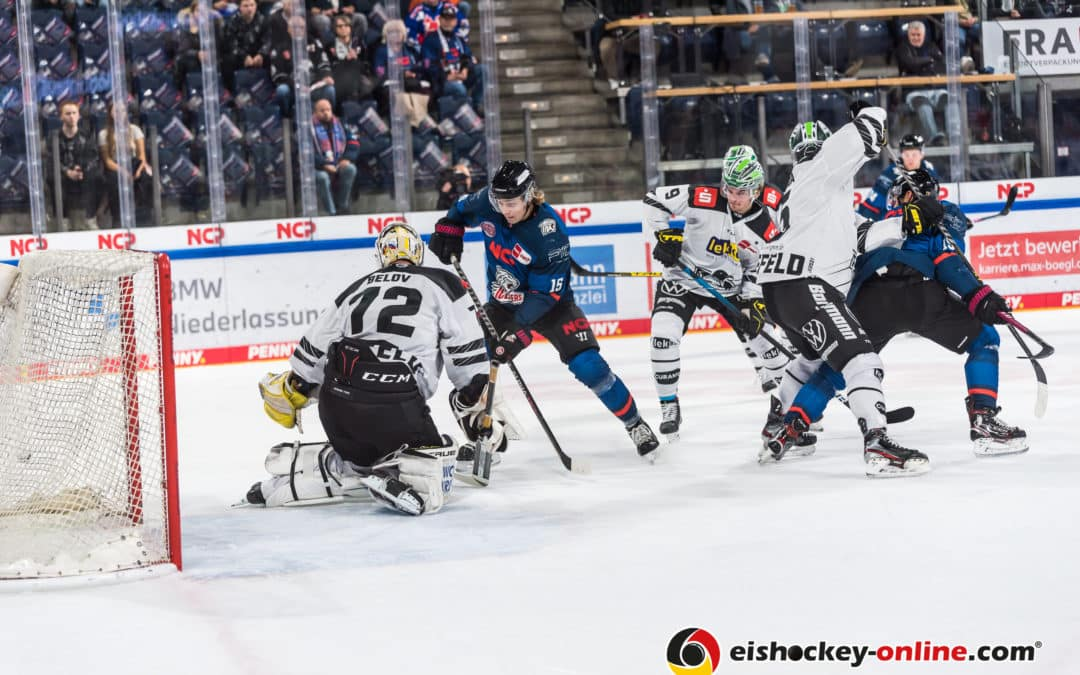 Nürnberg Ice Tigers vs Krefeld Pinguine 15.10.2021